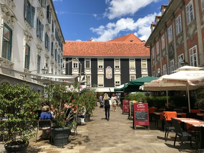 Cafes in Graz Austria Photo: Heatheronhertravels.com