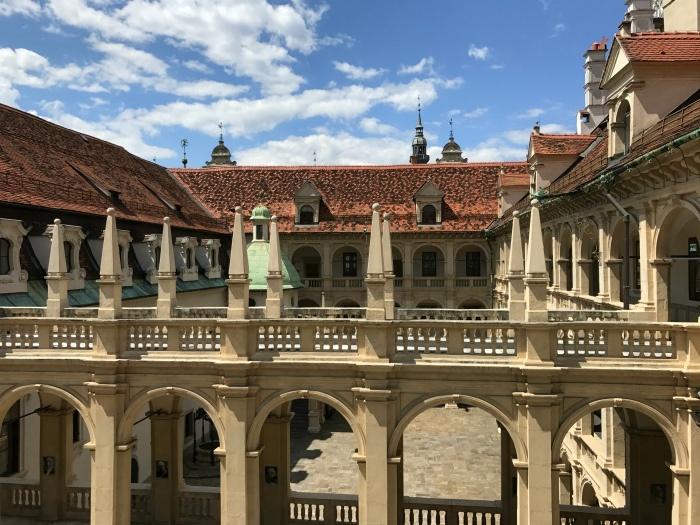 Courtyard in Graz Austria Photo: Heatheronhertravels.com