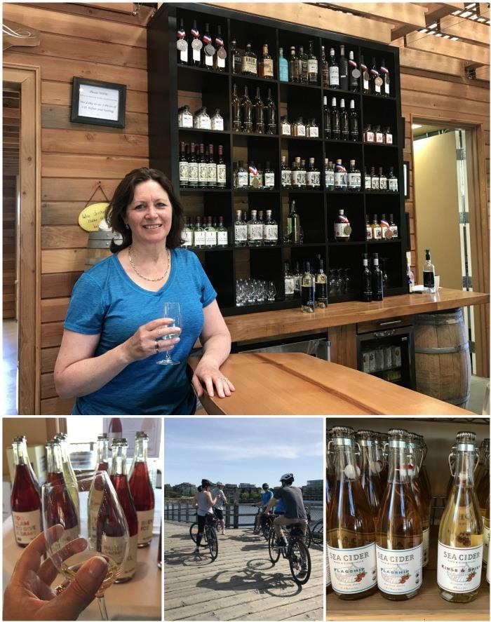Cycling and wine tasting in Victoria, Canada Photo: Heatheronhertravels.com