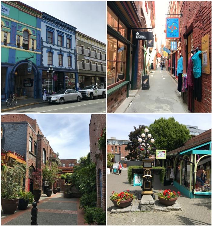 Downtown in Victoria, Canada Photo: Heatheronhertravels.com