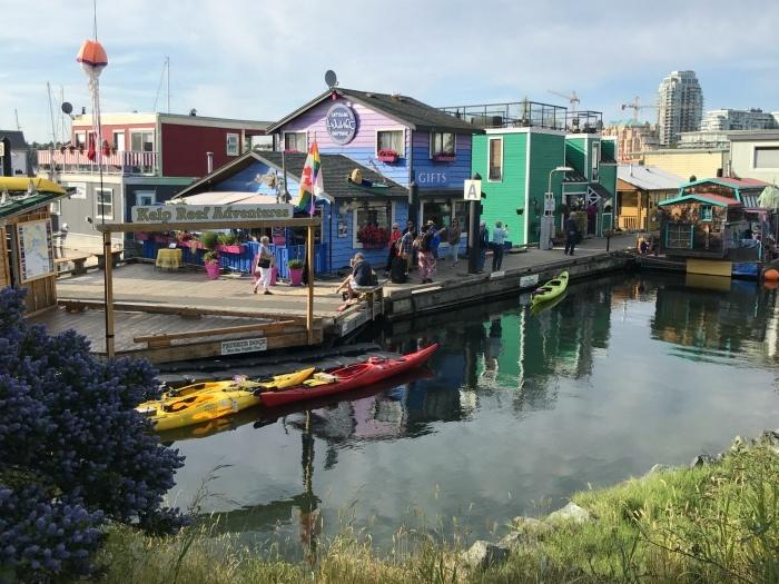 Fisherman's wharf in Victoria, Canada Photo: Heatheronhertravels.com