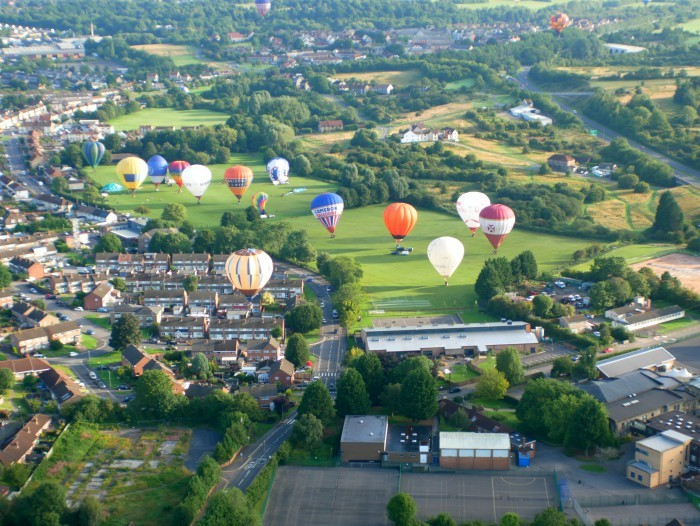 Flight over Bristol at Bristol Balloon Fiesta 2017 Photo: Heatheronhertravels.com
