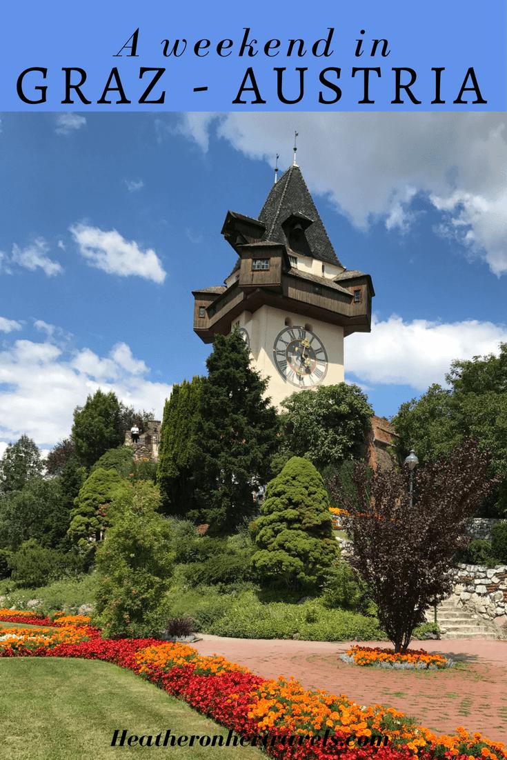 Read about a weekend in Graz Austria