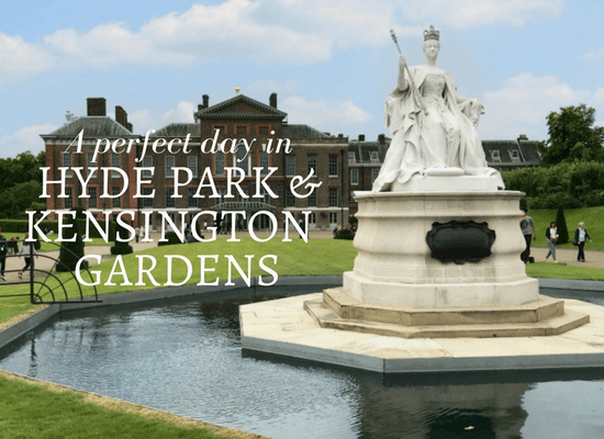 Read about a perfect day in Hyde Park and Kensington Gardens