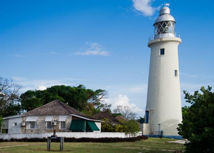 Negril Lighthouse in Jamaica photo Karen Marej