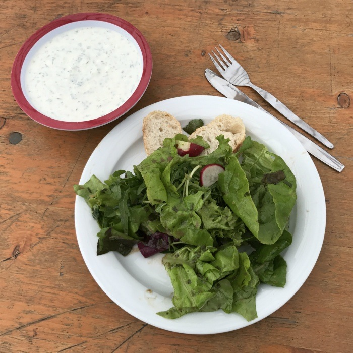 Salad in Vorarlberg