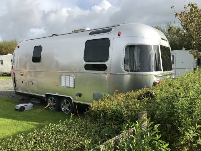 Airstream in Anglesey