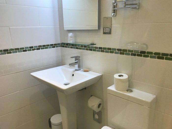 Our bathroom at Godolphin Arms