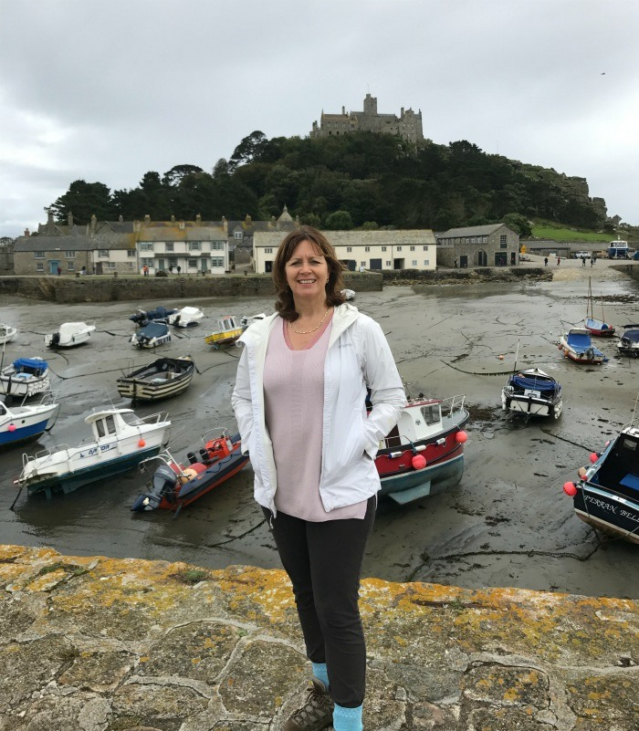 Heather at St Michaels Mount