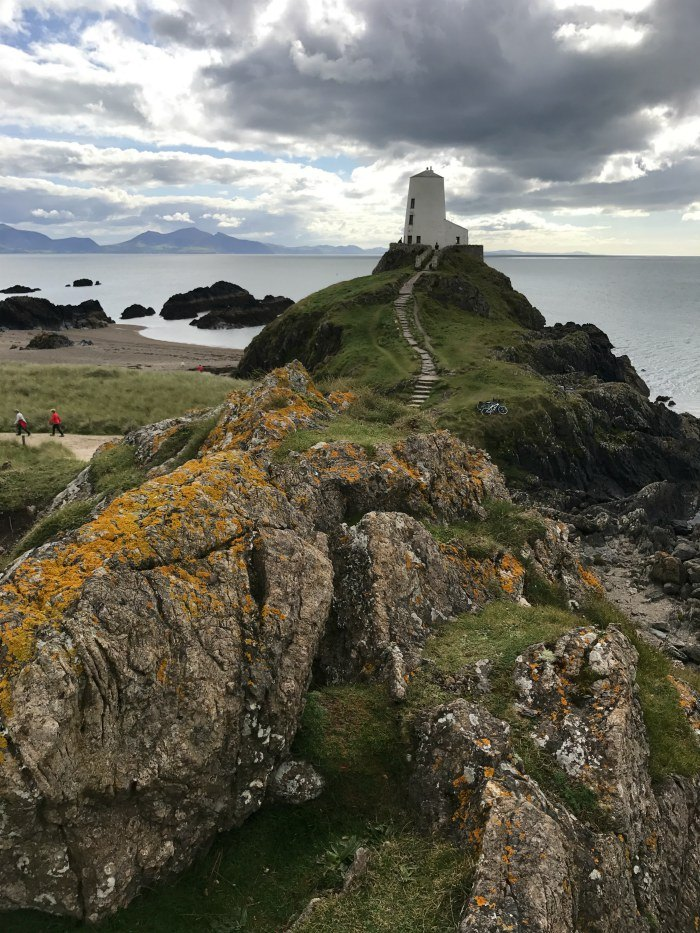 Lighthouse at Ynys Llandwynn in Anglesey