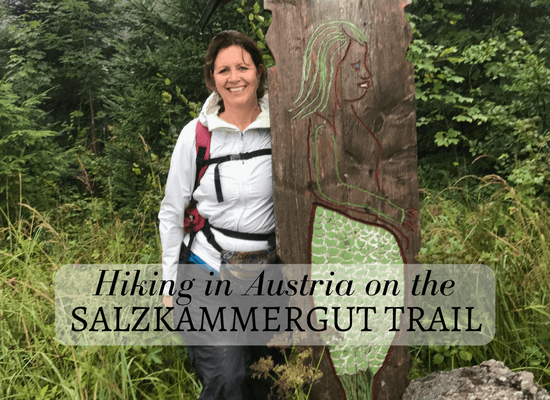 Hiking on the Salkammergut trail