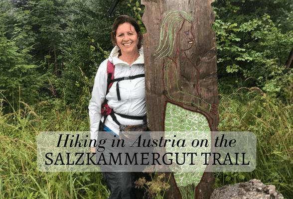 Hiking on the Salkammergut trail