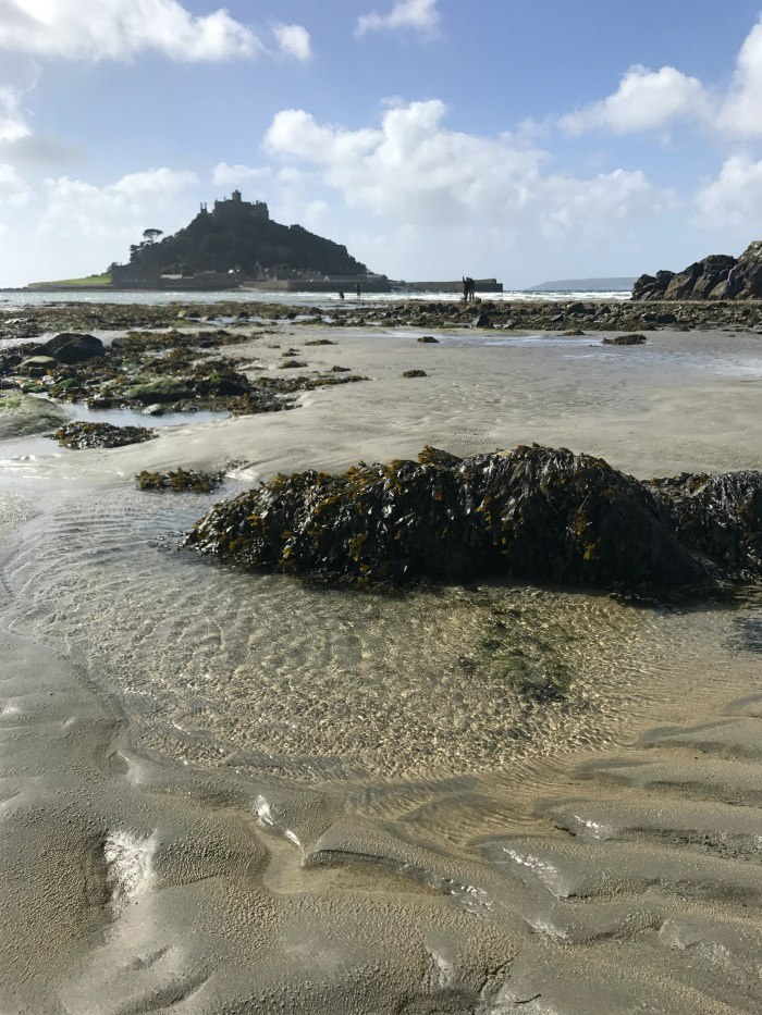 St Michaels Mount at Low tide