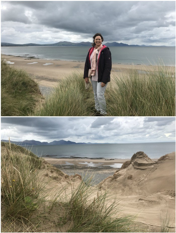 Walk through the sand dunes in Anglesey Photo: Heatheronhertravels.com