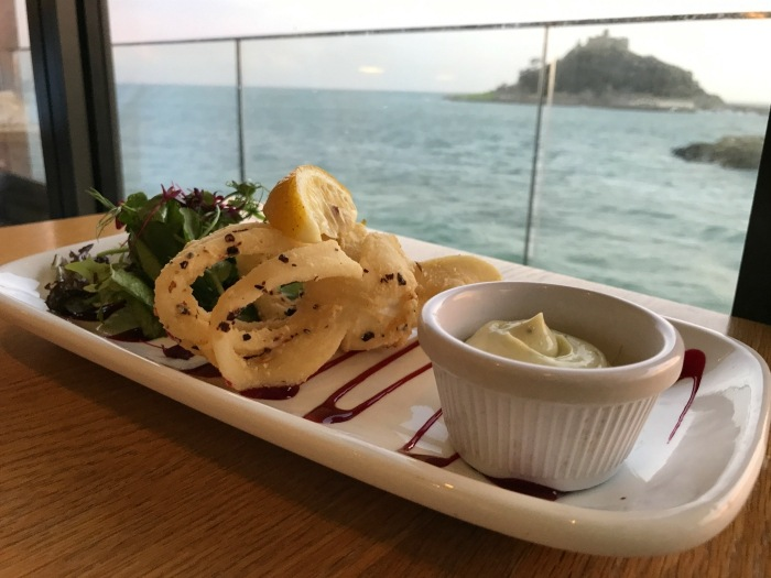Seafood at Godolphin Arms in Marazion