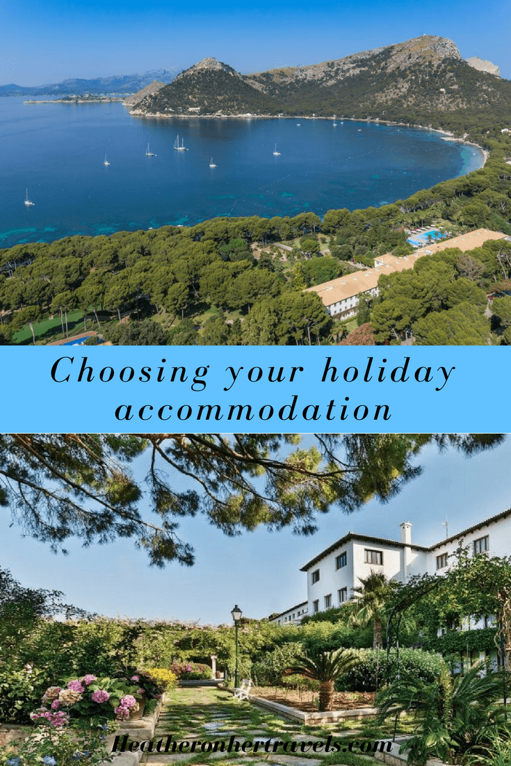 Read what to consider when booking your holiday accommodation