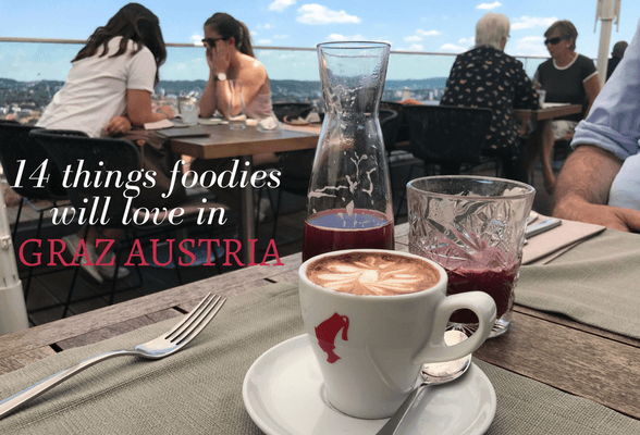 Read about 14 things foodies will love in Graz