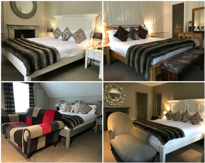 Rooms at the Vanbrugh House Hotel in Oxford