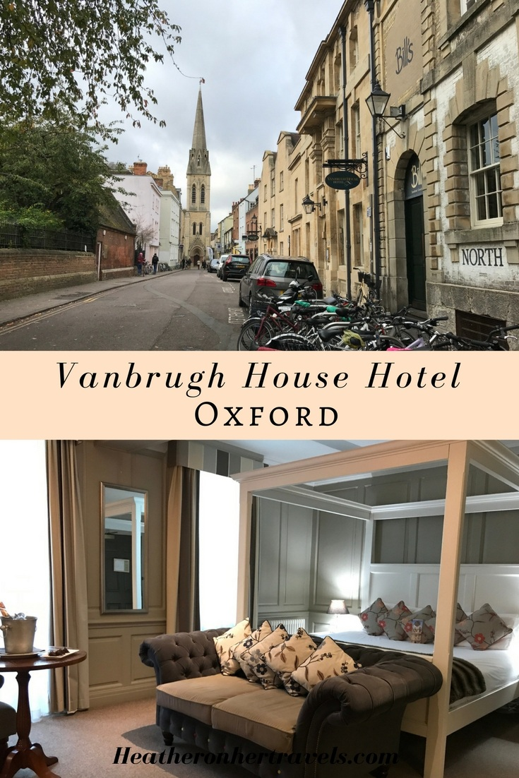 Read about the Vanbrugh House hotel - boutique hotel in Oxford