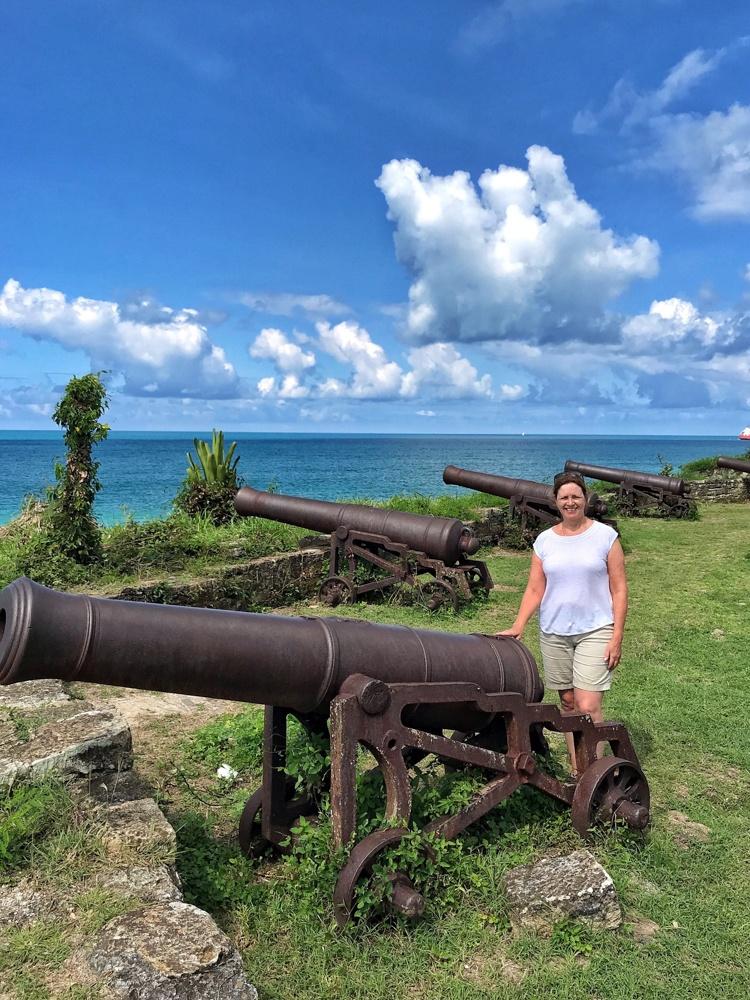 Fort James in Antigua Photo Heatheronhertravels.com