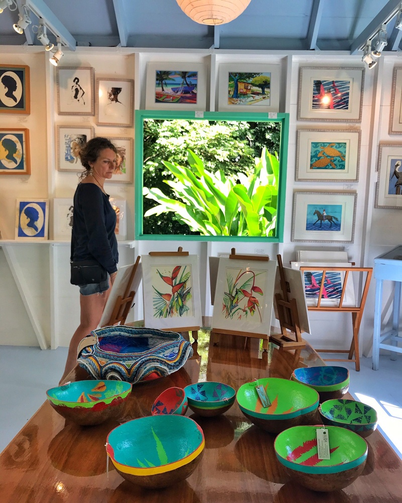 Rainforest Studio in Antigua Photo Heatheronhertravels.com