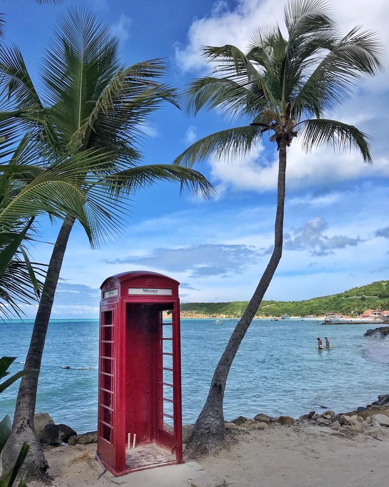 Sibony Beach Club Dickenson Bay in Antigua Photo Heatheronhertravels.com