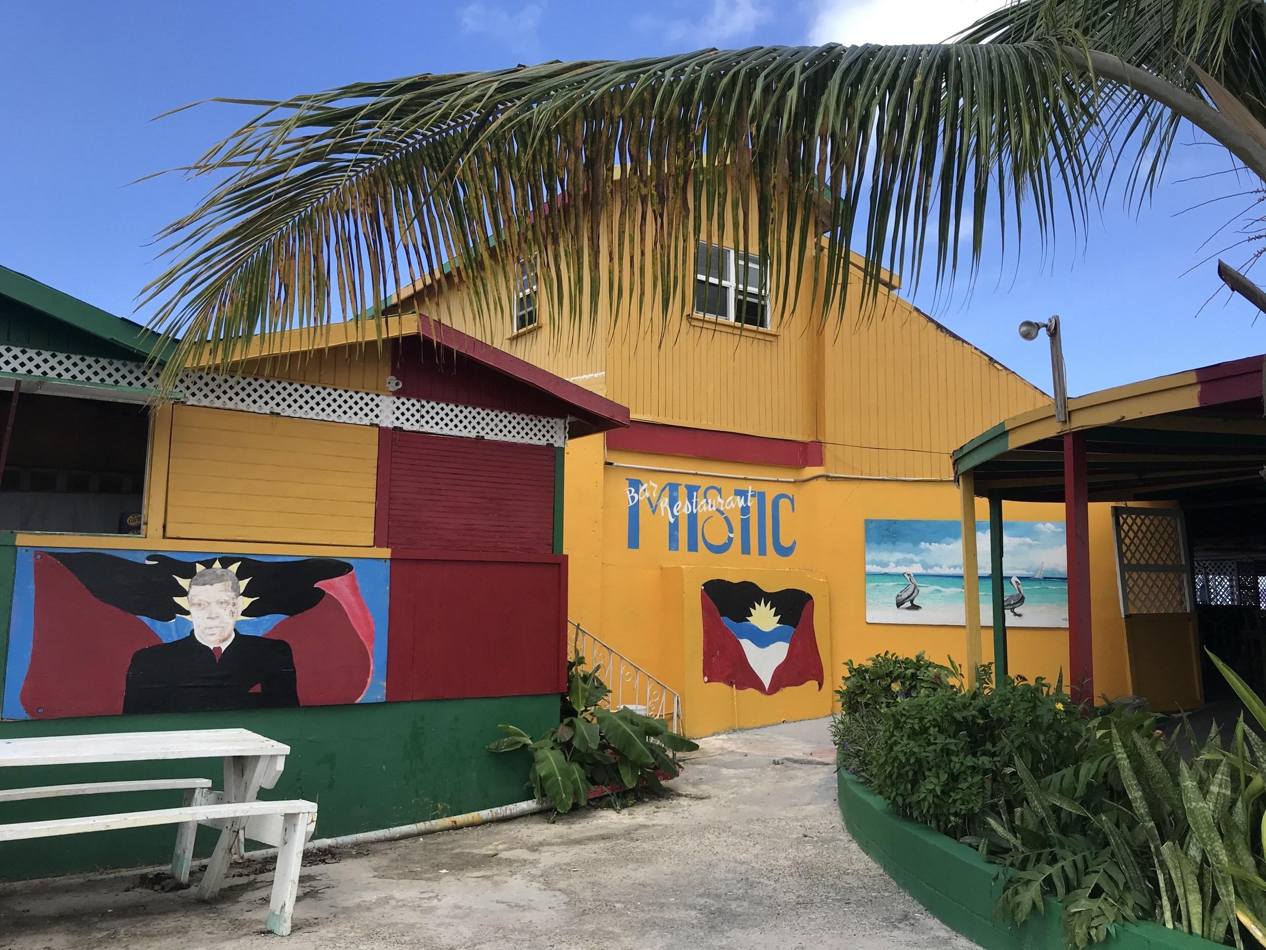 Mystic Beach Bar on Runaway Beach Antigua
