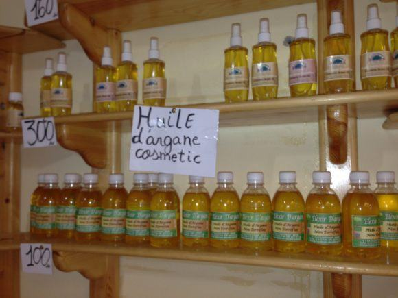 The Argan oil co-operative on the way to Paradise Valley near Agadir Photo Heatheronhertravels.com
