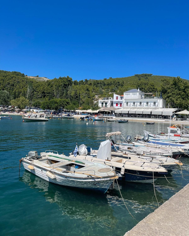 Agnontas Beach, Skopelos, Greece Photo Heatheronhertravels.com