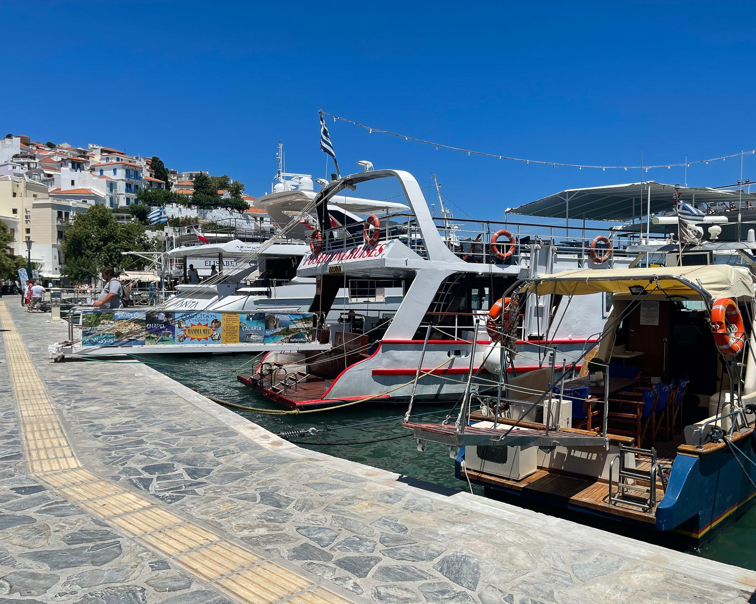 Boat trips to Alonissos from Skopelos