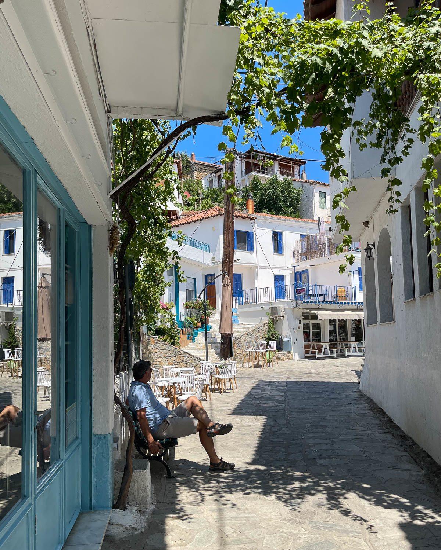 Glossa Skopelos Greece