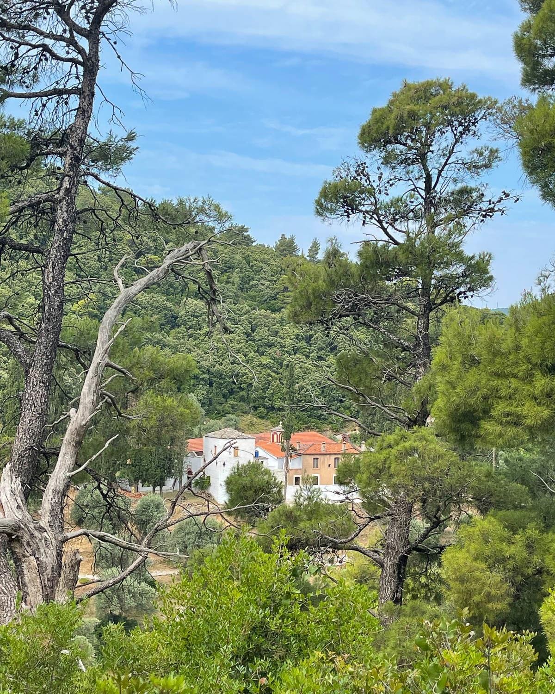 Iera Moni Sotiros Monastery, Skopelos Greece