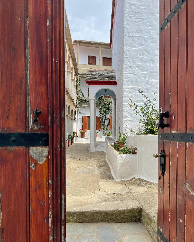 Monastery of Timios Prodromos, Skopelos Greece