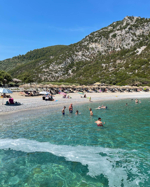 Glystari Beach Skopelos Photo Heatheronhertravels.com