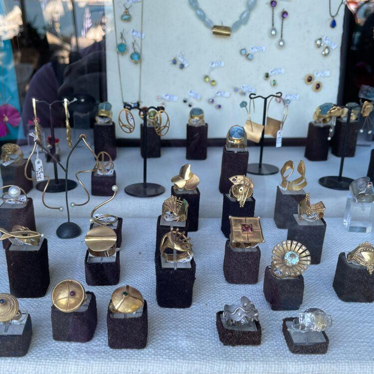 Shopping for jewellery in Skopelos Photo Heatheronhertravels.com