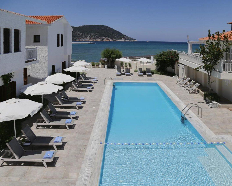 Skopelos Village Hotel, Skopelos Greece